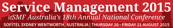 Service Management 2015 Logo